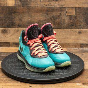 Nike Lebron 8 Pre Heat South Beach Womens Sz 8